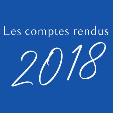 Les décisions de l'année 2018