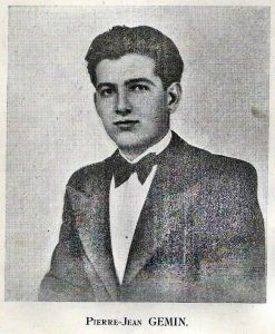 Hommage à Jean Pierre GEMIN